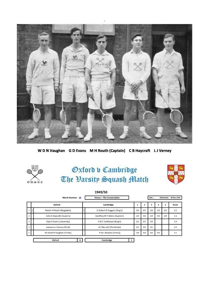 ex CO - OU 1949 Team